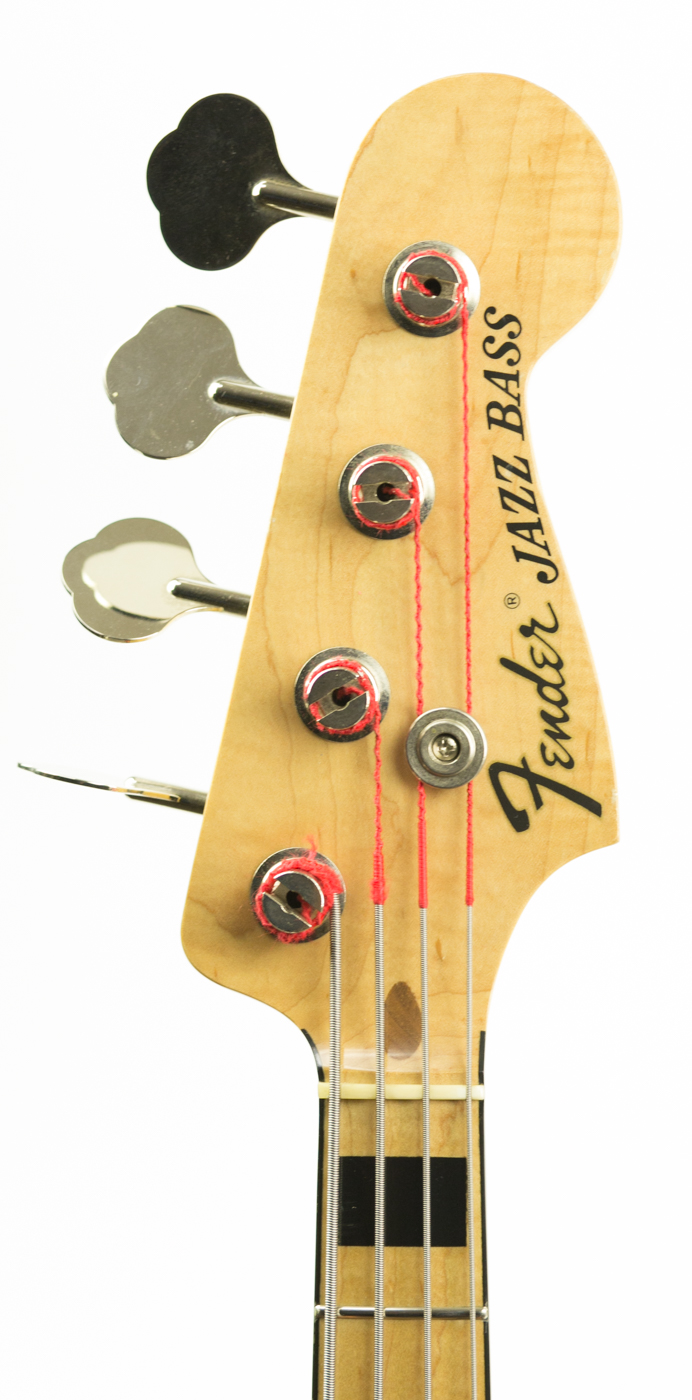 2000s Fender Geddy Lee Jazz Bass detail 3