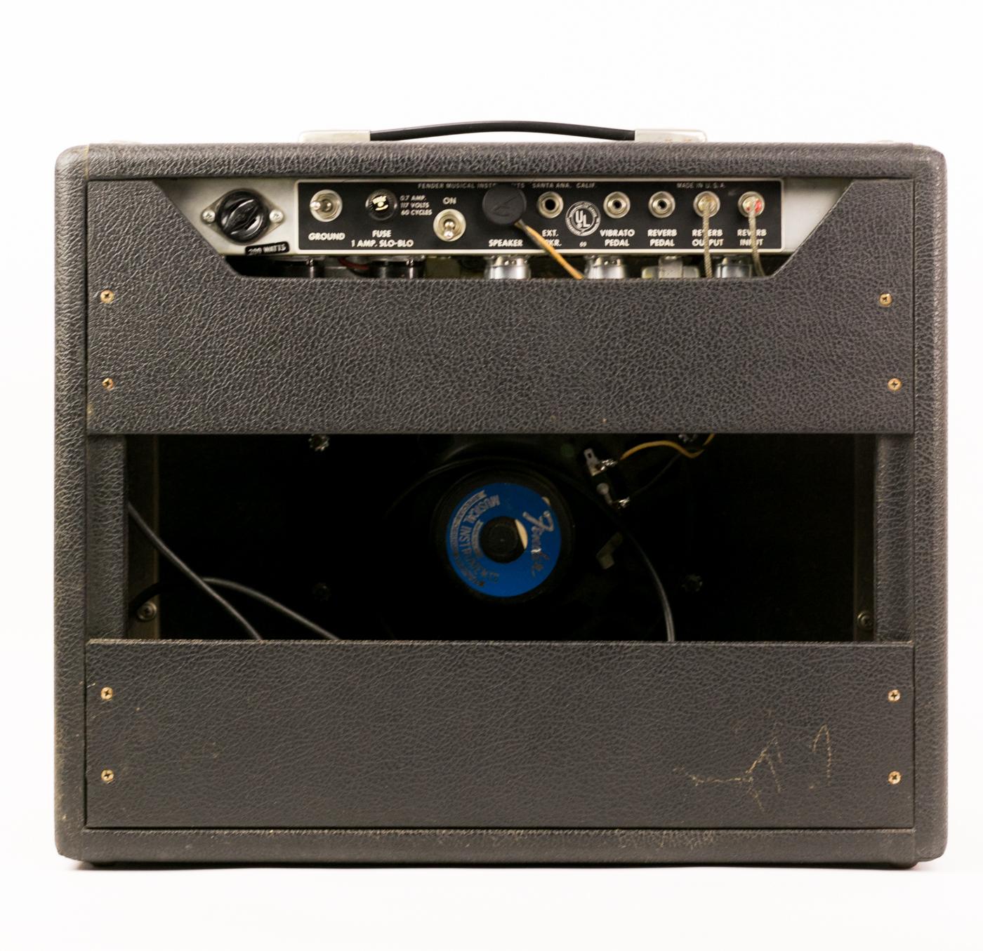 1969 Fender Princeton Reverb Drip Edge detail 1