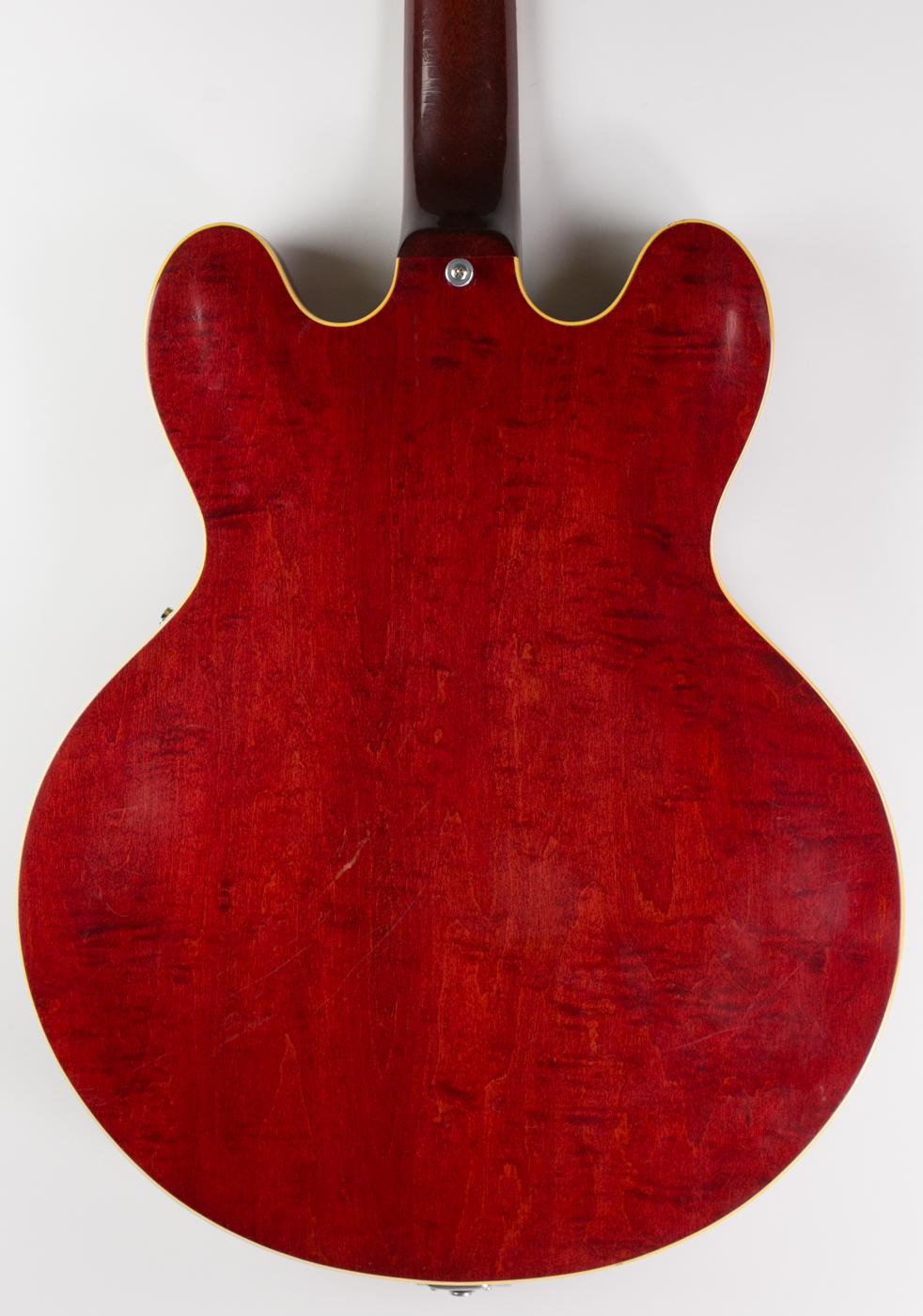 1963 Gibson ES-335TD Cherry detail 2