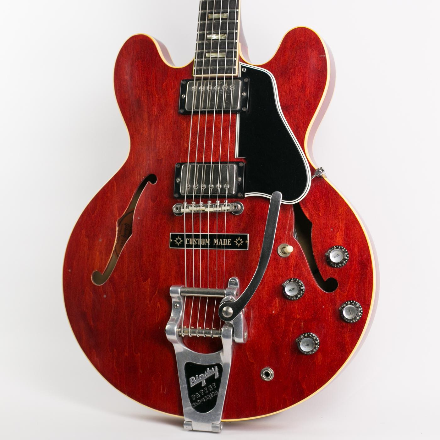 1963 Gibson ES-335TD Cherry detail 0