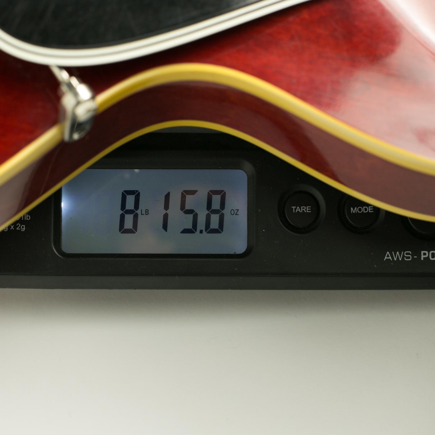 1963 Gibson ES-335TD Cherry detail 3