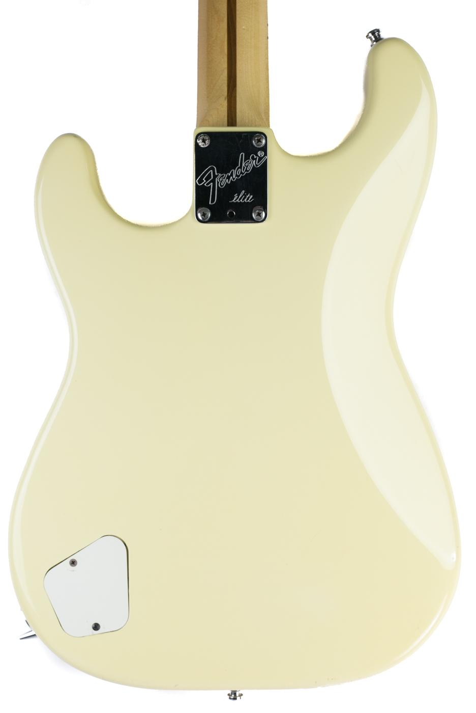 1983 Fender Elite Stratocaster White detail 2
