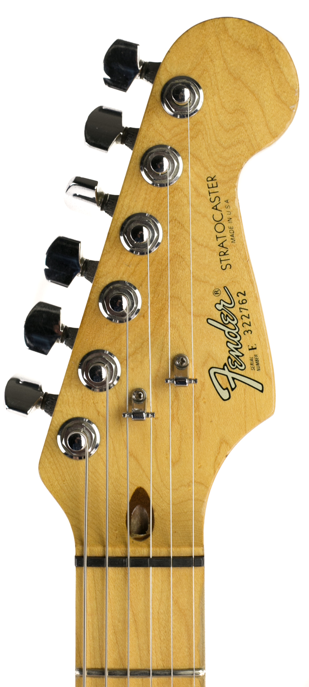 1983 Fender Elite Stratocaster White detail 4