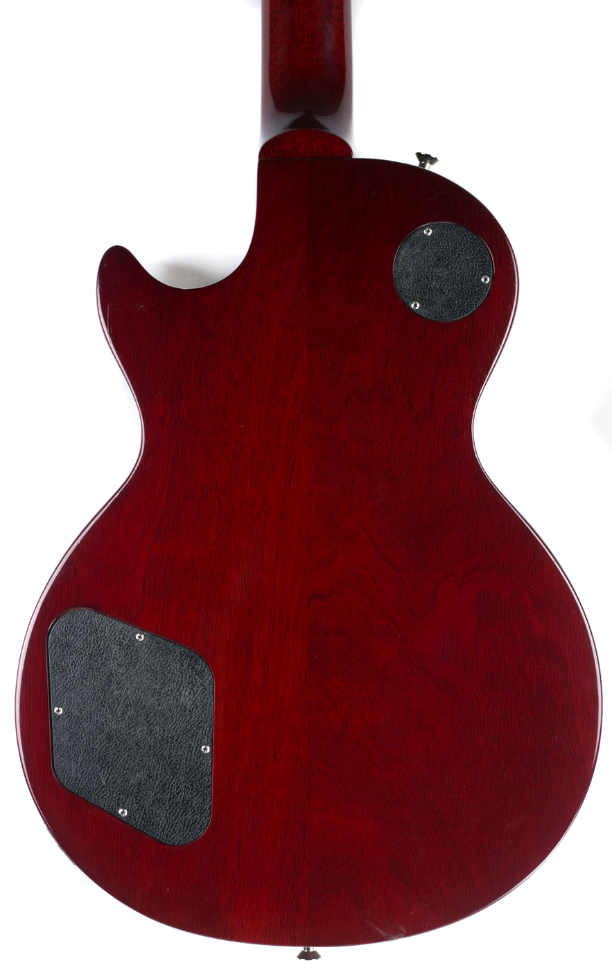 2014 Gibson Les Paul Classic Custom LE Wine Red detail 2