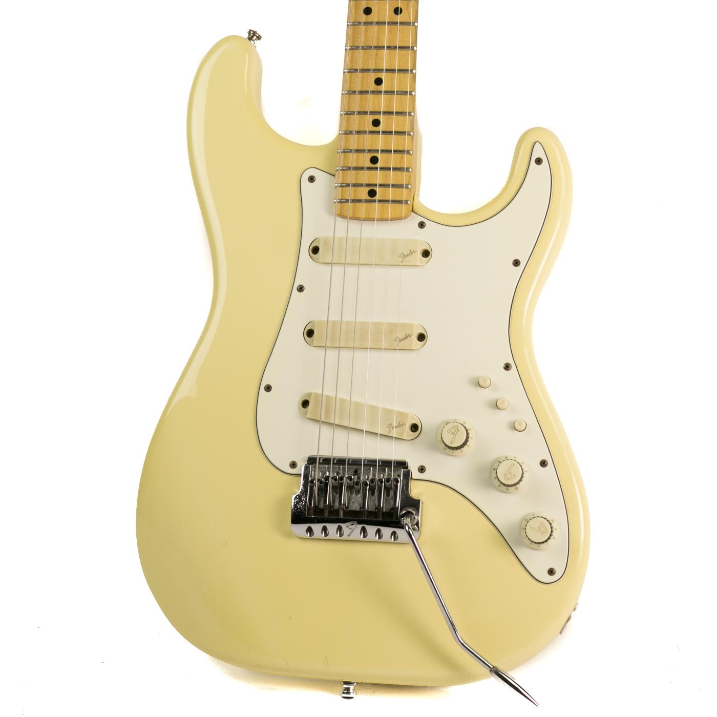 1983 Fender Elite Stratocaster White detail 0