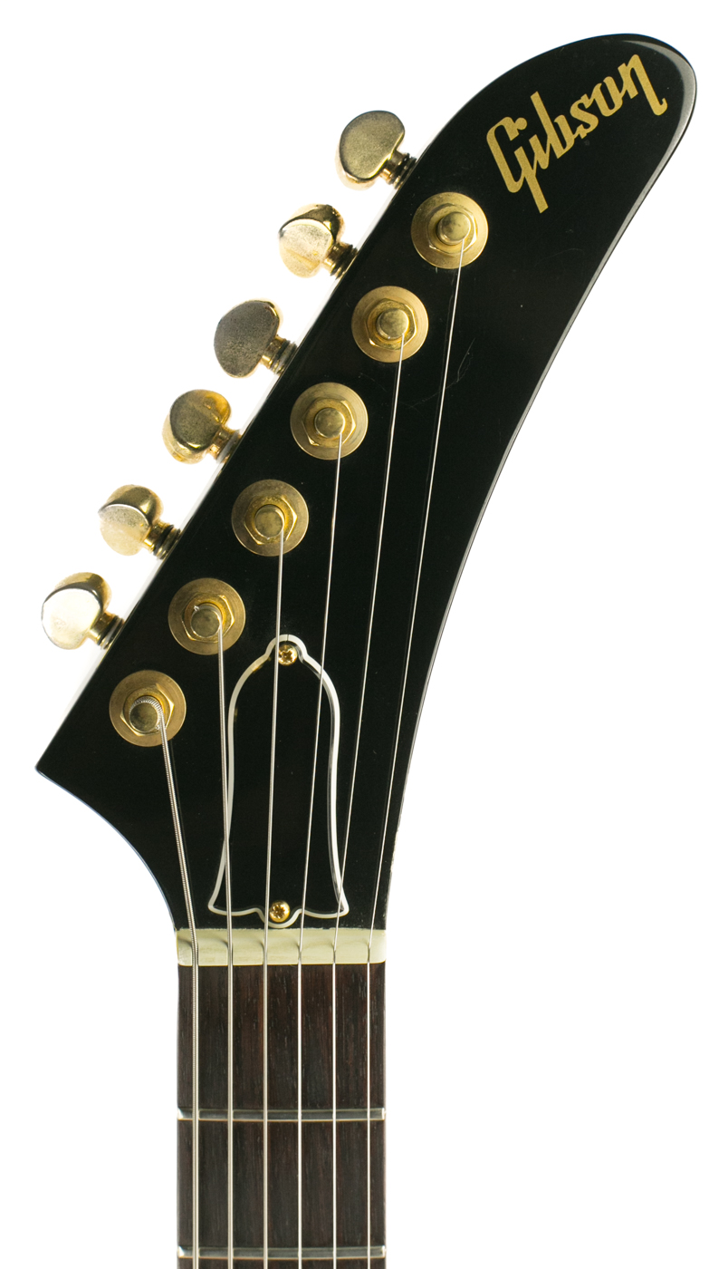 1984 Gibson Designer Series Black & Gold detail 4