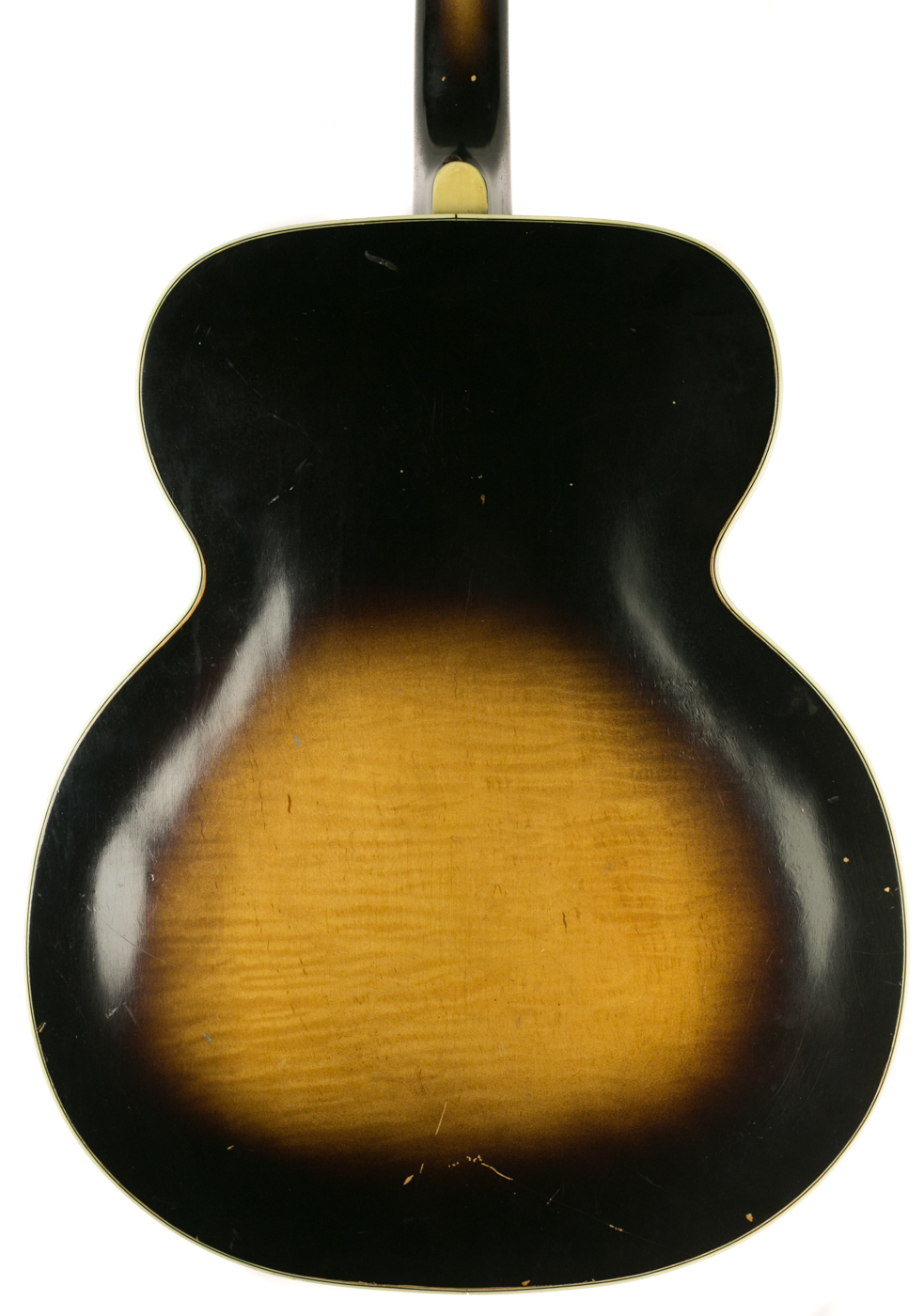 1940s Silvertone Archtop detail 2