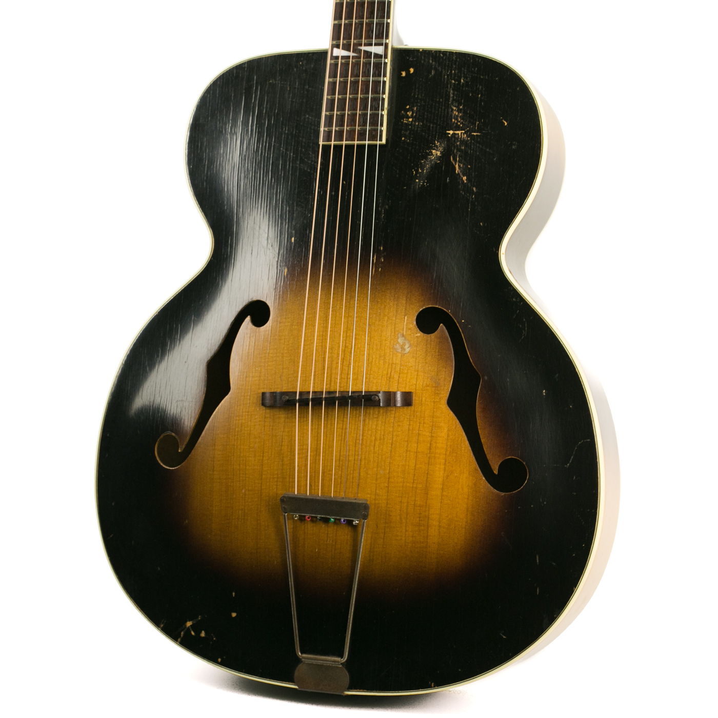 1940s Silvertone Archtop detail 0