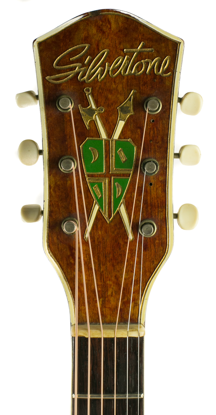 1940s Silvertone Archtop detail 4