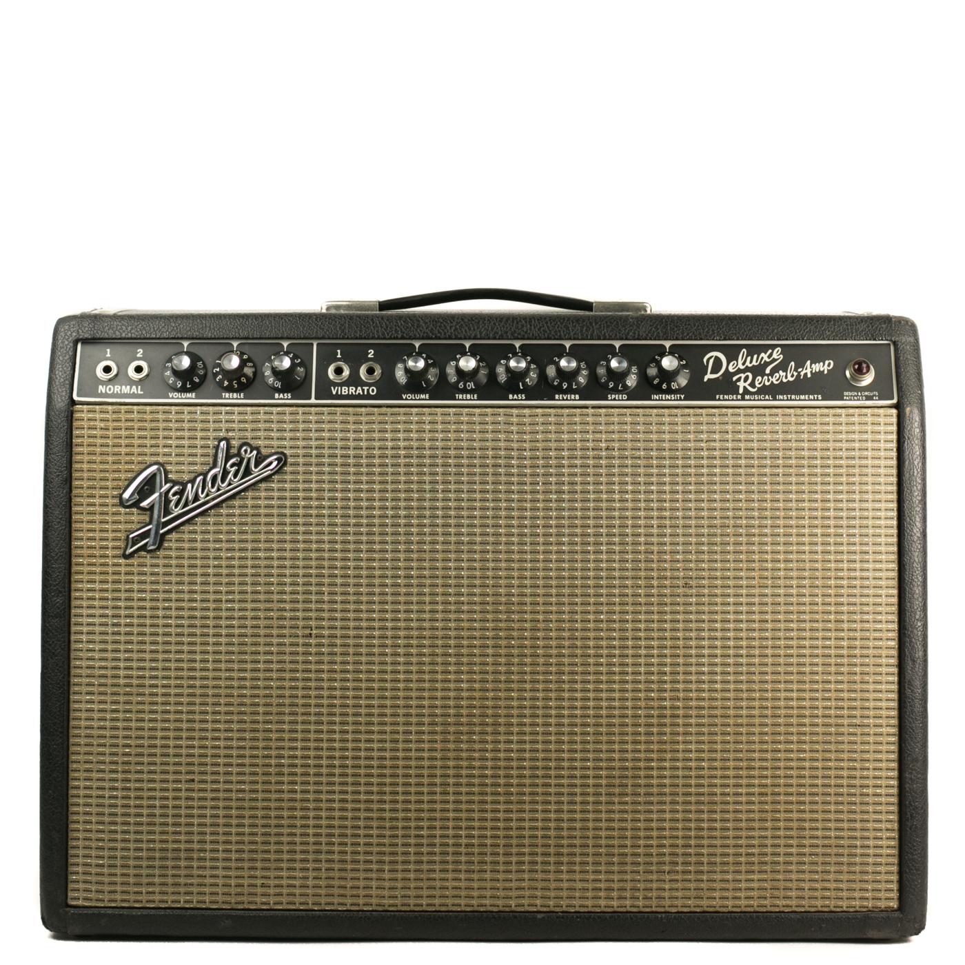 1967 Fender Deluxe Reverb Blackface detail 0