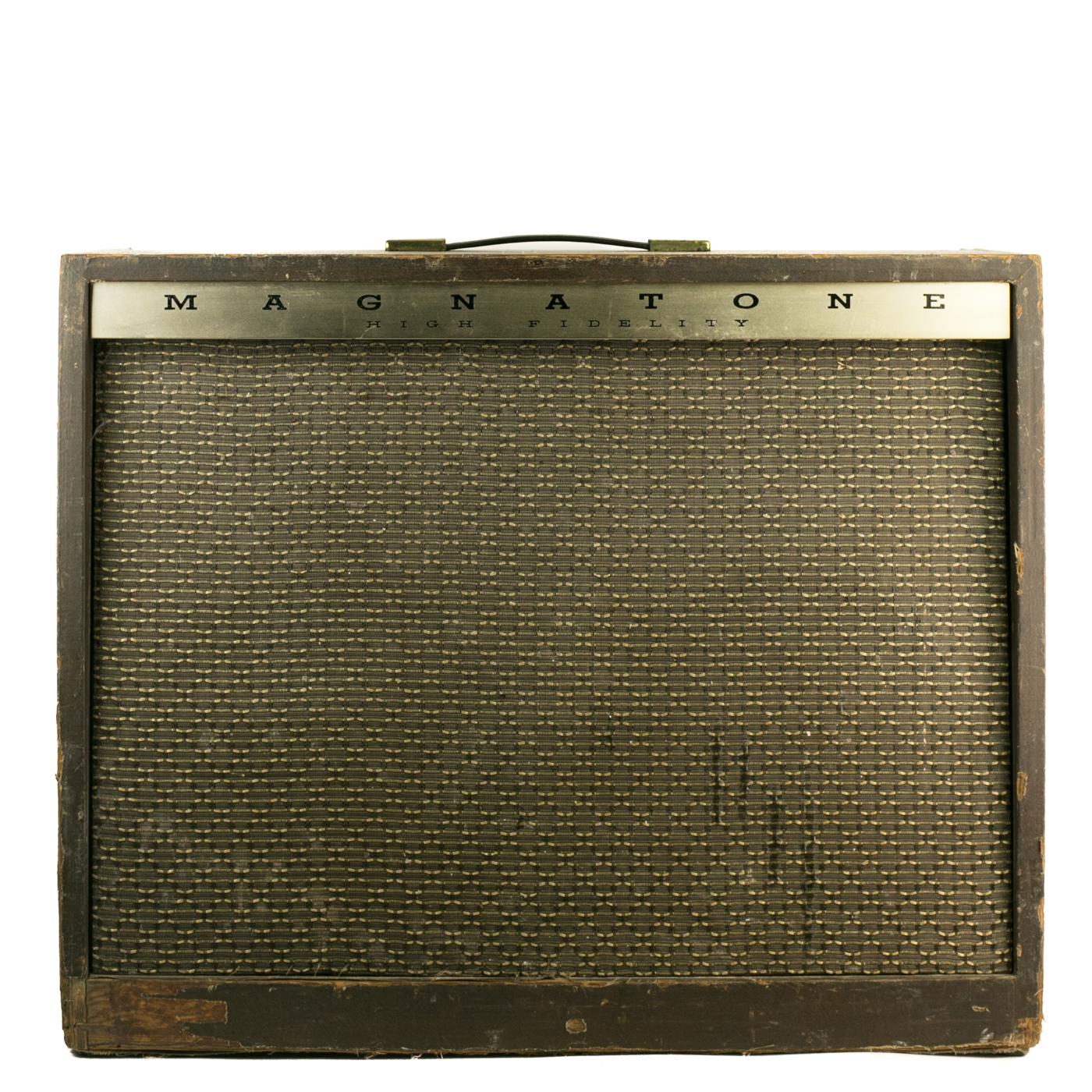 1960s Magnatone Custom 460 2×12 combo detail 0