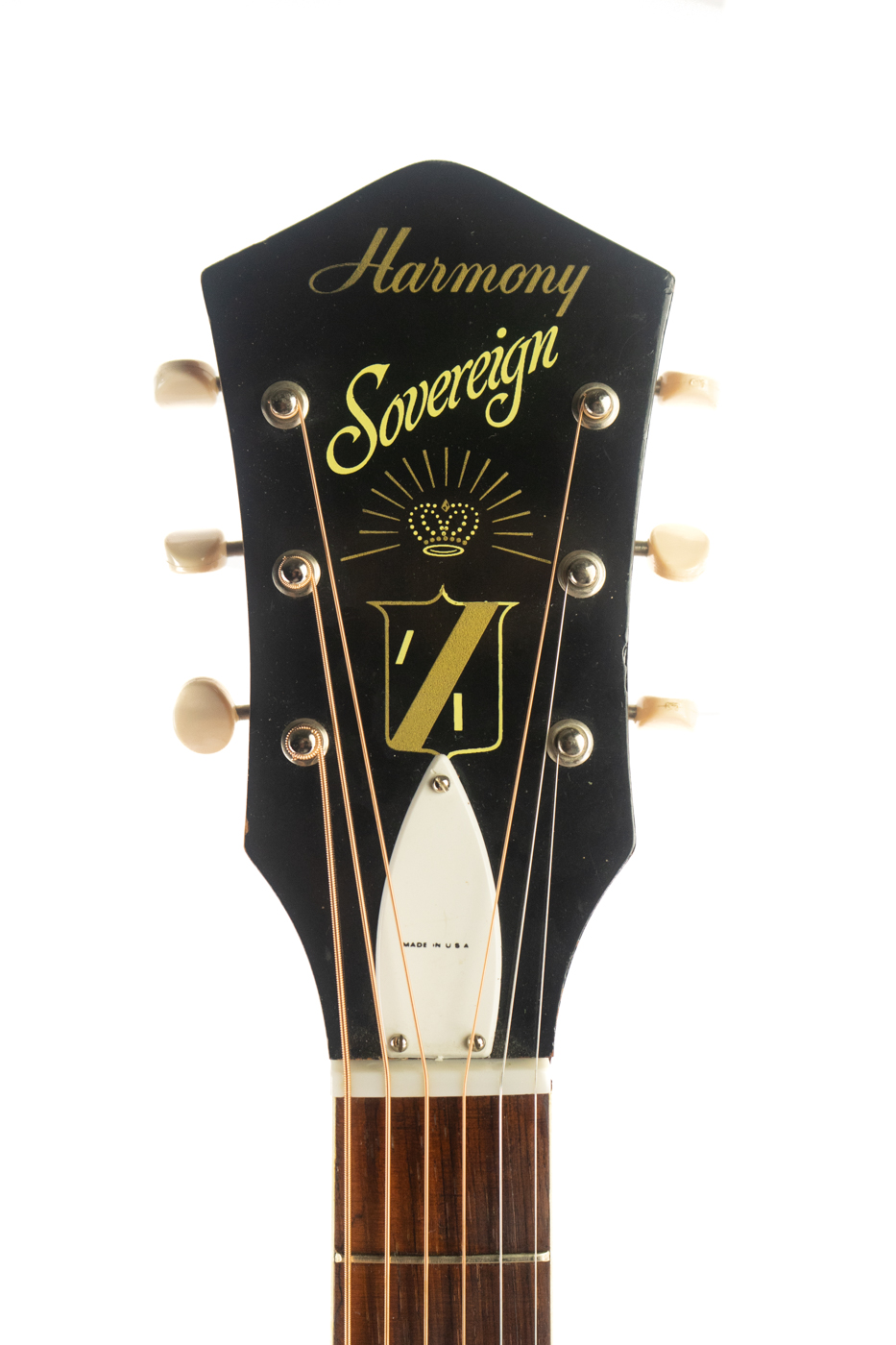 1960s Harmony Sovereign H1203 Thunder Road Guitars Seattle