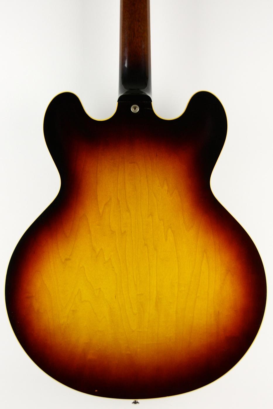 1960 Gibson ES-345TDSV Sunburst detail 2