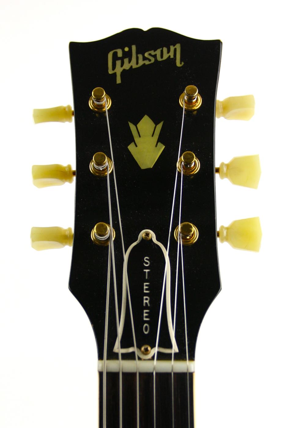1960 Gibson ES-345TDSV Sunburst detail 3
