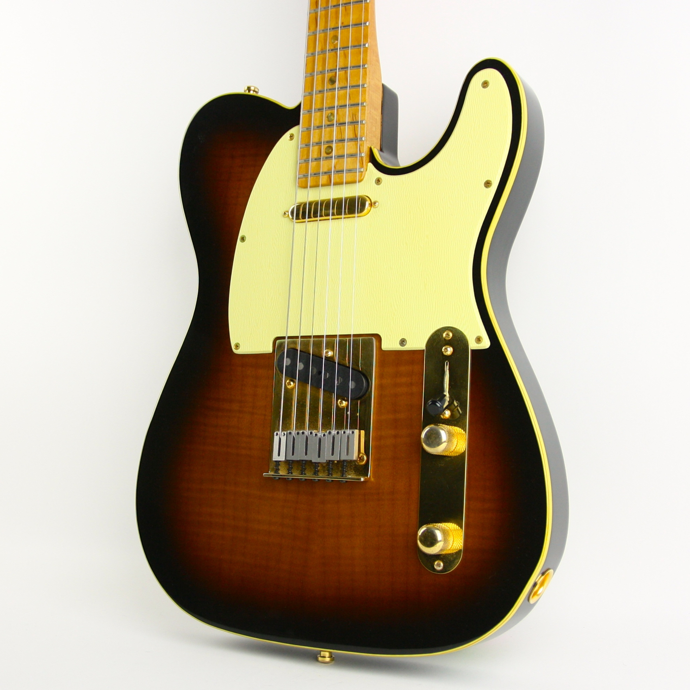 1988 Fender Custom Shop 40th Anniversary Telecaster Sunburst! detail 1