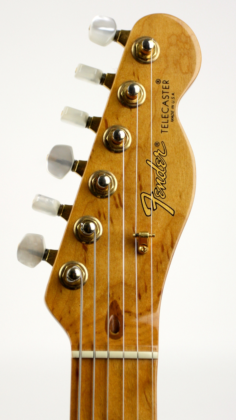 1988 Fender Custom Shop 40th Anniversary Telecaster Sunburst! detail 4