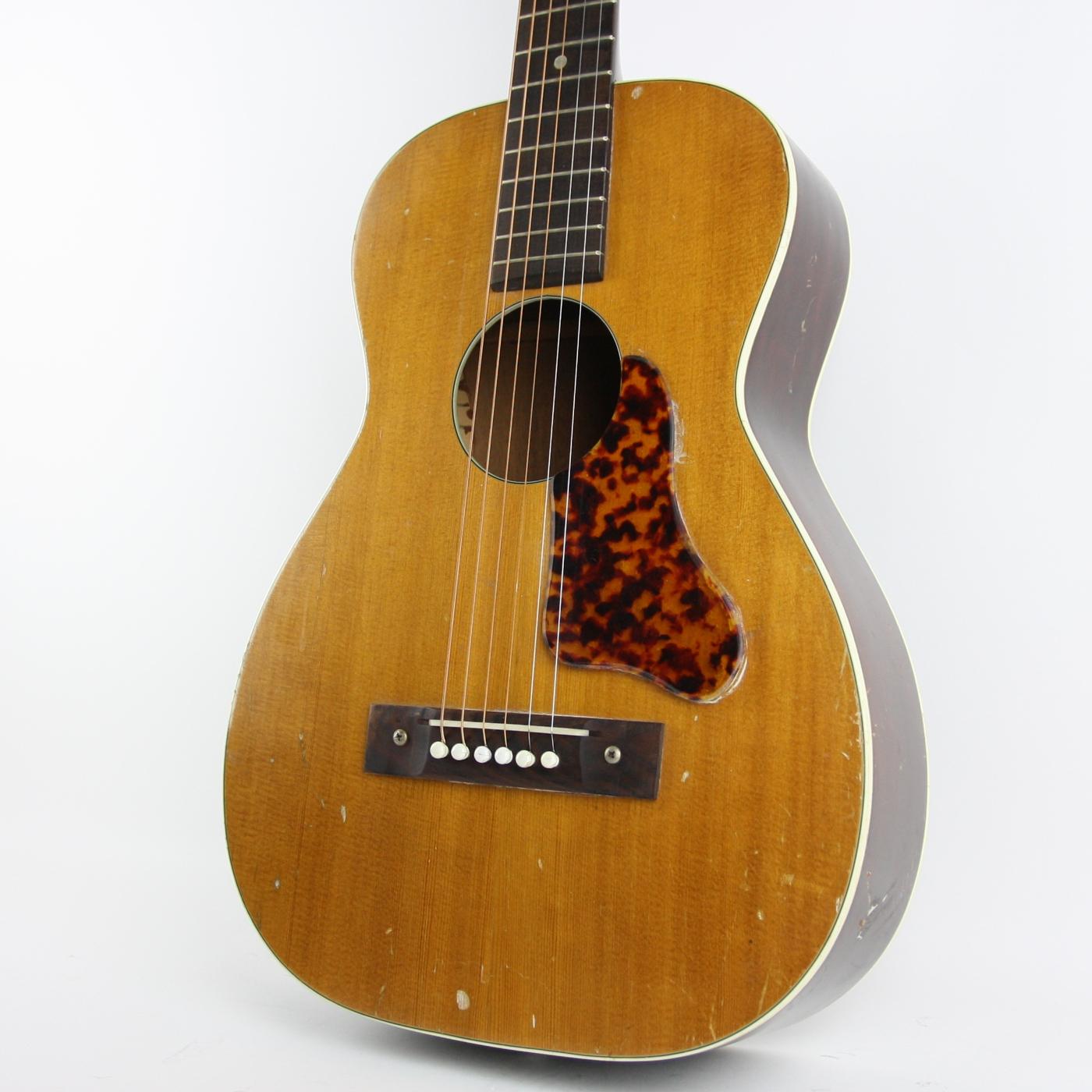 1960s Regal/Harmony Parlor Acoustic detail 0