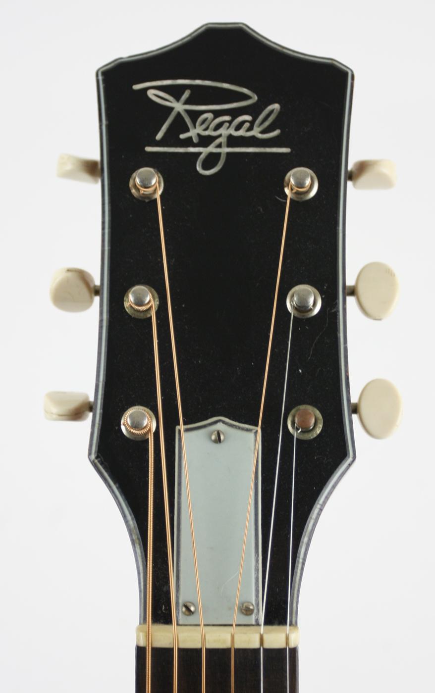 1960s Regal/Harmony Parlor Acoustic detail 3