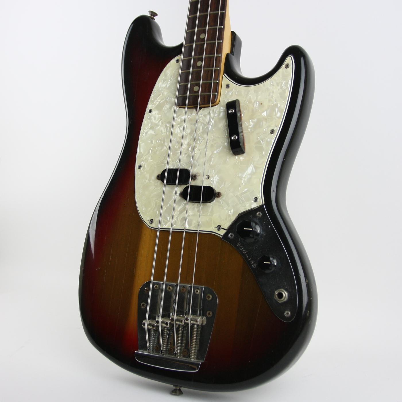 1974 Fender Mustang Bass Sunburst detail 0