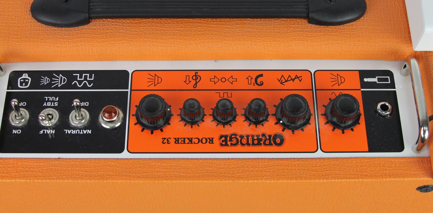 Orange Rocker 32 Combo detail 2