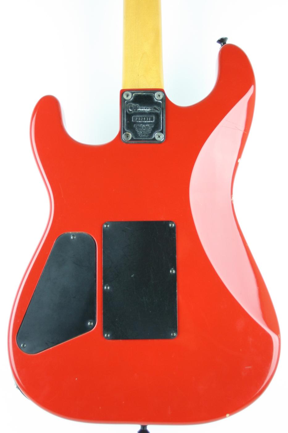 1980s Charvel Model 2 Red