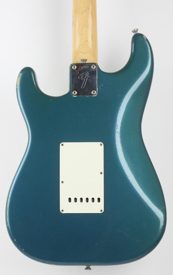 1969 Fender Stratocaster Lake Placid Blue detail 2