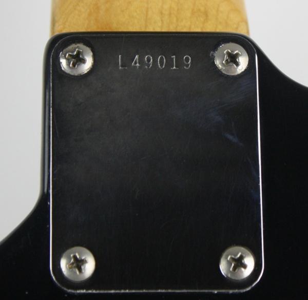 1964 Fender Jaguar Black Rare PDX detail 5