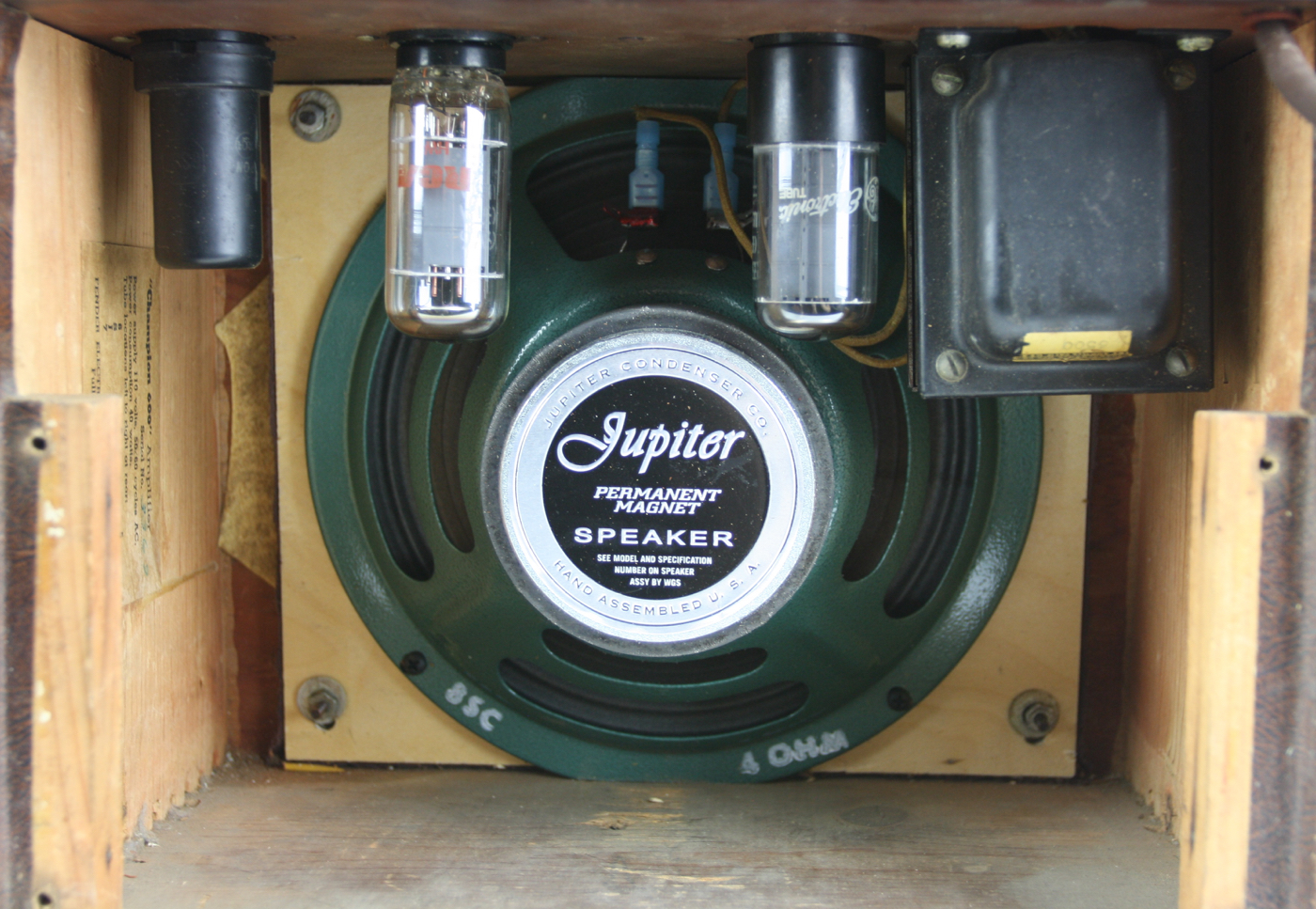 1953 Fender Champion 600 Amp detail 2
