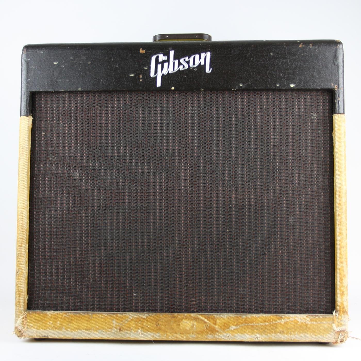 1958 Gibson GA-40 Amp detail 0